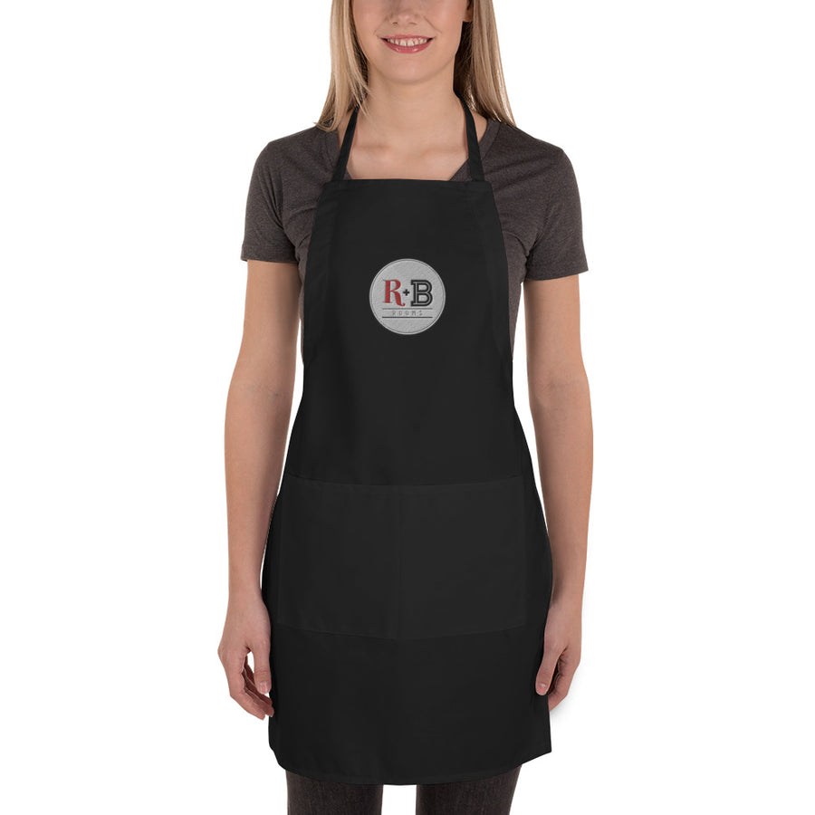 R + B Rooms - Embroidered Apron
