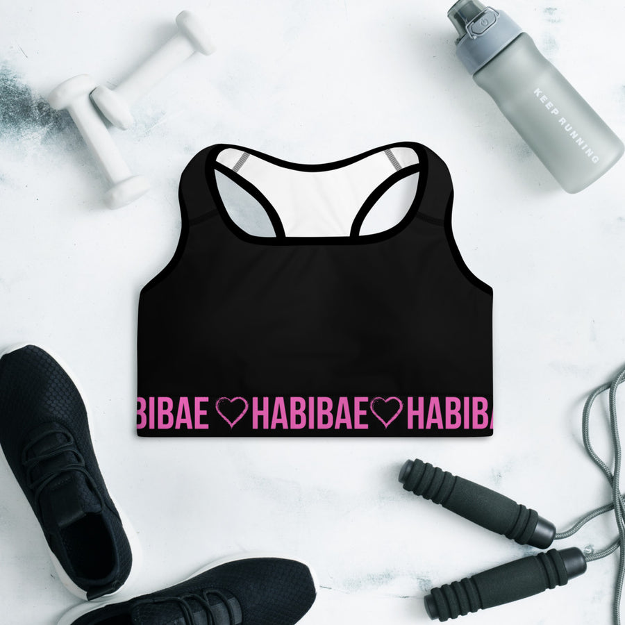 HABIBAE - PINK Padded Sports Bra
