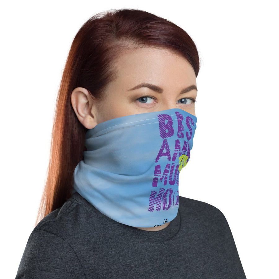 besame mucho -  mouth cover / covid19 / Neck Gaiter