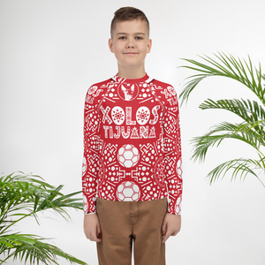 XOLOS XMAS ARBOLITO - Youth Rash Guard