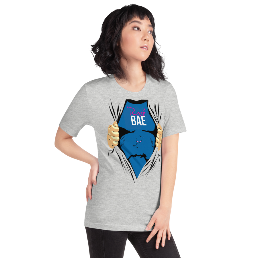 Rose Bae Super hero. - Short-Sleeve Unisex T-Shirt