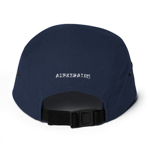 ASHKENAZIM - Five Panel Cap 3d puff