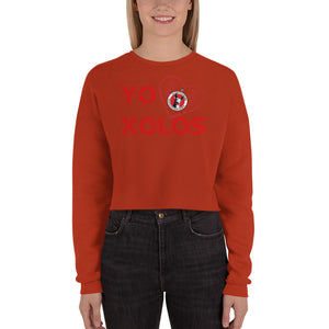 YO (heart) XOLOS - Crop Sweatshirt