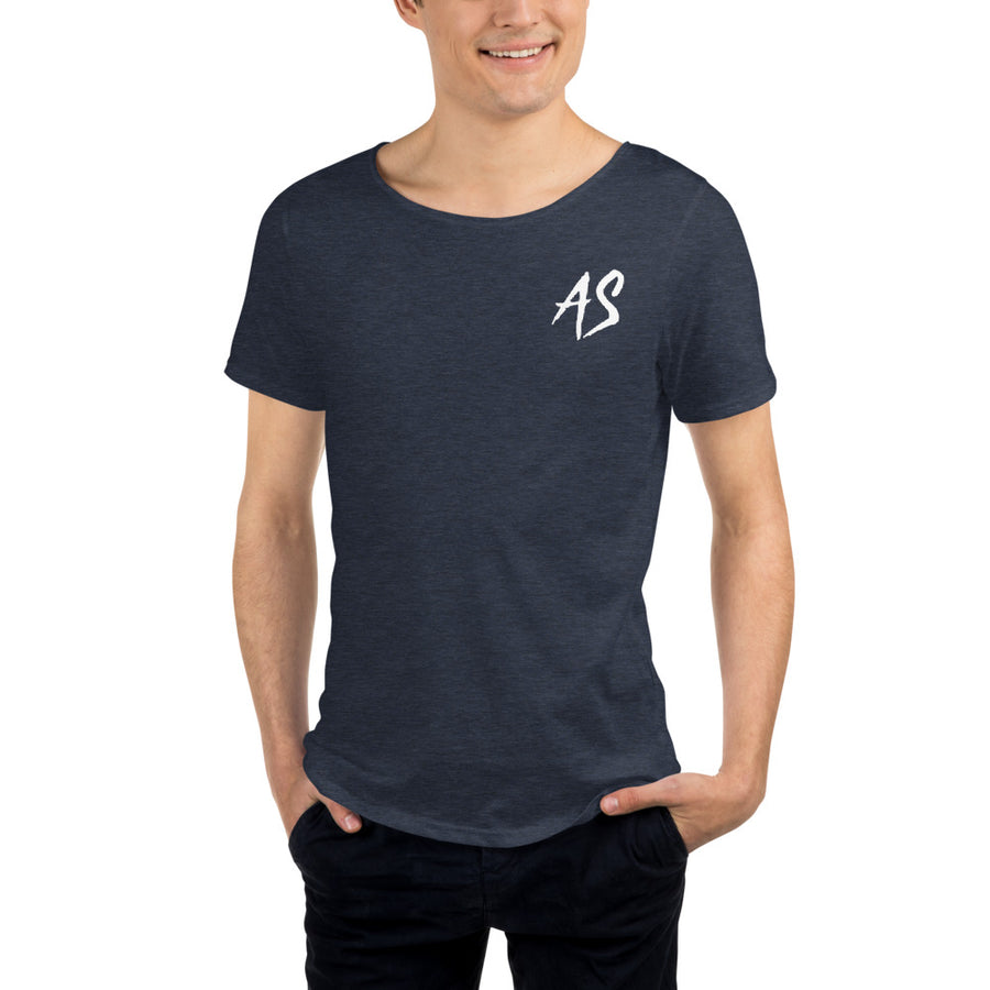 AS - Men's Raw Neck Tee