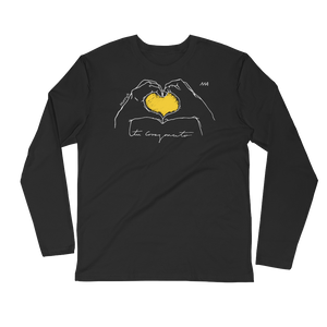Tu corazoncito - Long Sleeve Fitted Crew