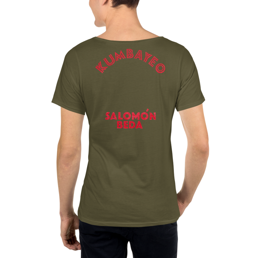 KUMBAYEO - Men's Raw Neck Tee