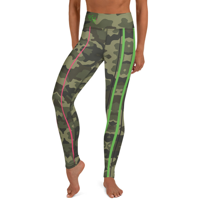 OGA CAMOU -Yoga Leggings