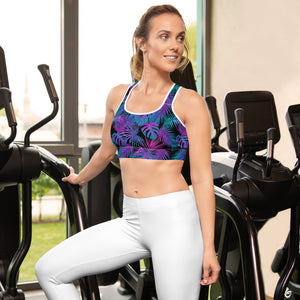 OGA TROPICAL NEON - Sports bra