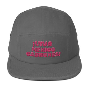 VIVA MEXICO CABRONES - Five Panel Cap
