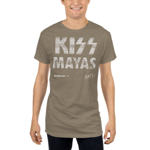 KISS MAYAS - Long Body Urban Tee by SWEXI