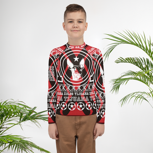 XOLOS XMAS XX Ugly Christmas Sweater - Youth Rash Guard