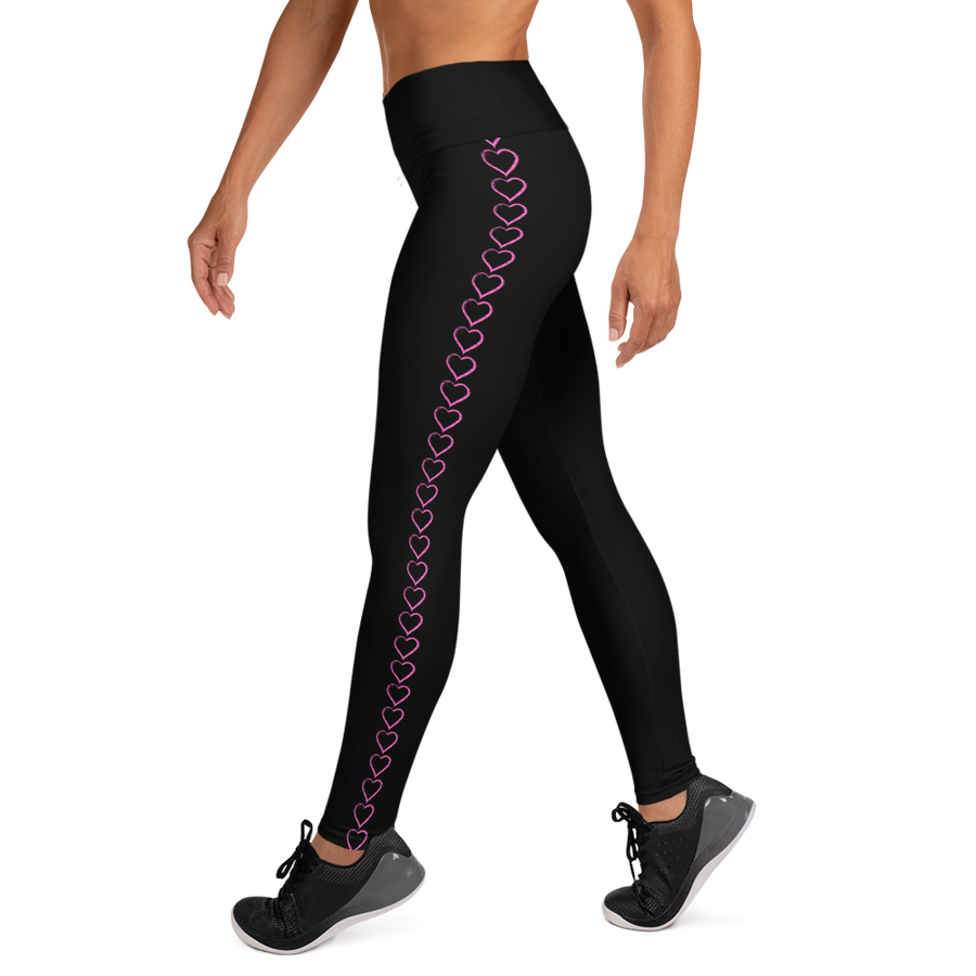 heart habibae -Yoga Leggings