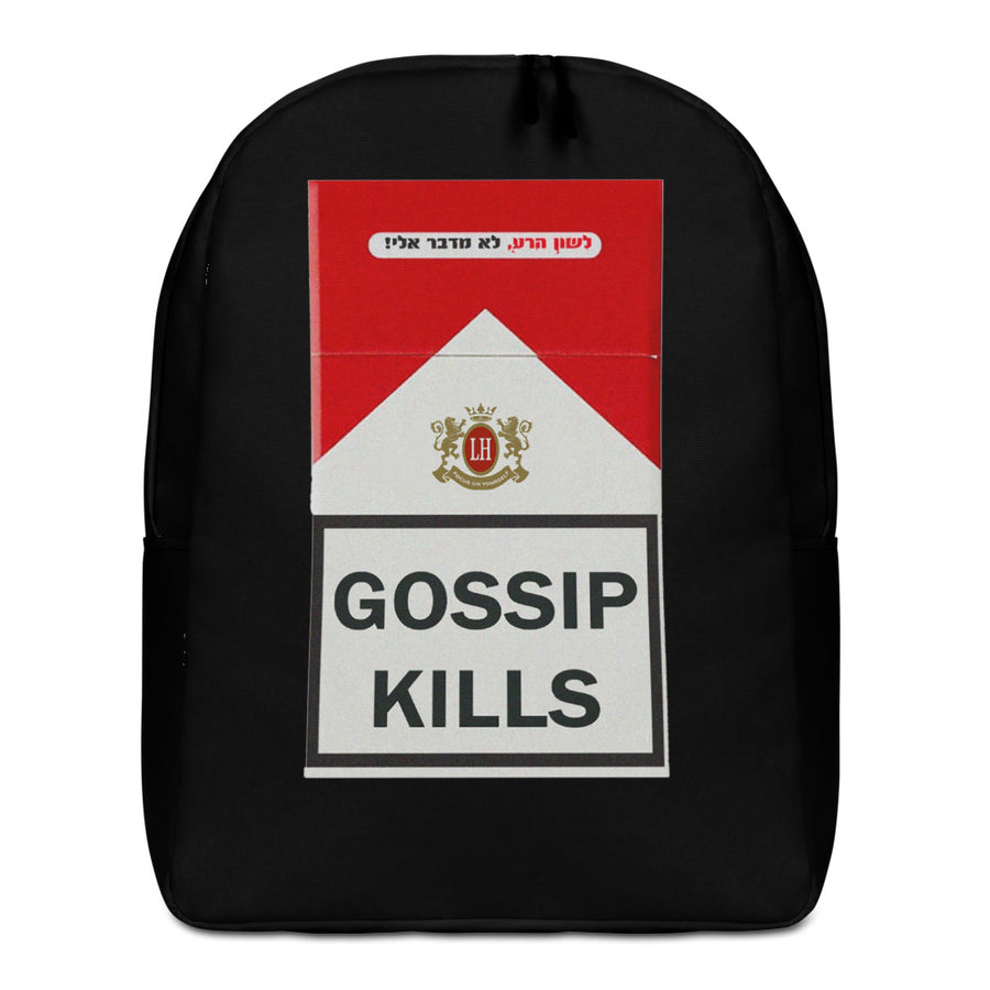 GOSSIP KILLS - Minimalist Backpack