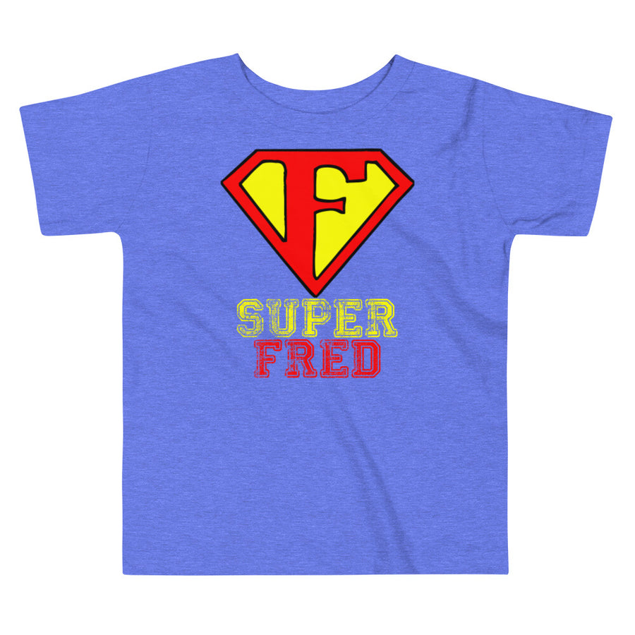 SUPER FRED - Toddler Short Sleeve Tee