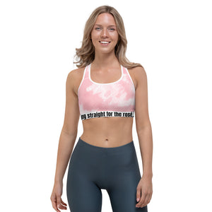tie dye straight for rose tie dye - Sports bra
