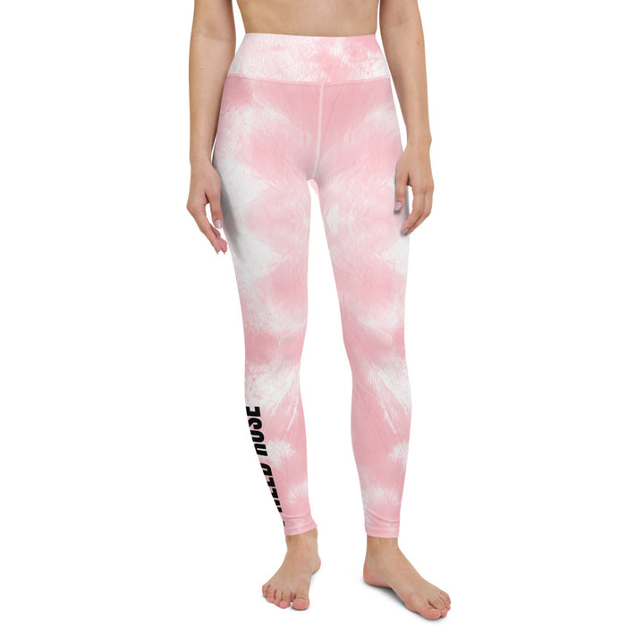pink tie dye - Yoga Leggings
