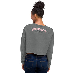 Straight for the rose - Crop Sweatshirt
