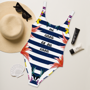 mi casa es su casa - One-Piece Swimsuit