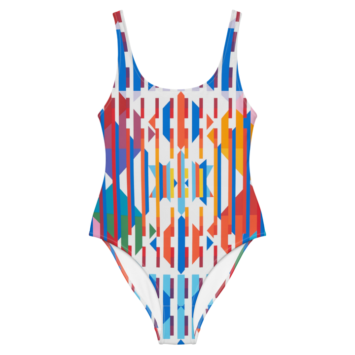Lashon Hara - Ode to Yaacov Agam - One-Piece Swimsuit
