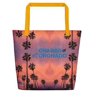 chabad of coronado - Beach Bag