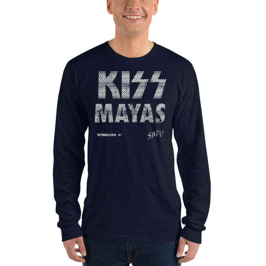 Kiss Mayass - Long sleeve t-shirt