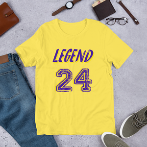 LEGEND 24 - Short-Sleeve Unisex T-Shirt