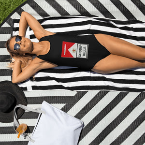 GOSSIP KILLS - One-Piece Swimsuit