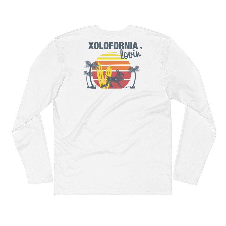 Xolofirnia Lovin' - Long Sleeve Fitted Crew