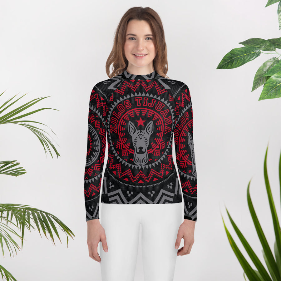 XOLOS XMAS PN - Youth Rash Guard