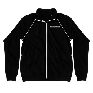 merch - Piped Fleece Jacket