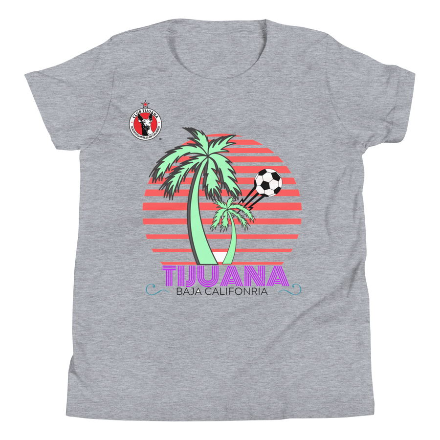 TIJUANA BC RETRO  - Youth Short Sleeve T-Shirt