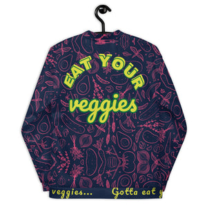 Eat your veggies - Unisex Bomber Jacket