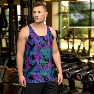 OGA TROPICAL NEON - Unisex Tank Top