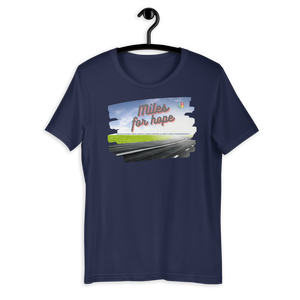 Miles for hope - Short-Sleeve Unisex T-Shirt 1
