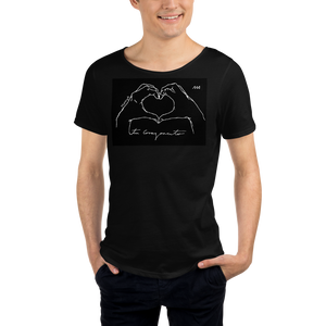 Tu corazoncito - Men's Raw Neck Tee