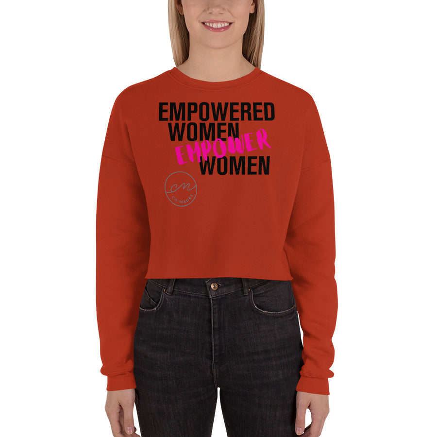 EMPOWERED WOMEN - Crop Sweatshirt