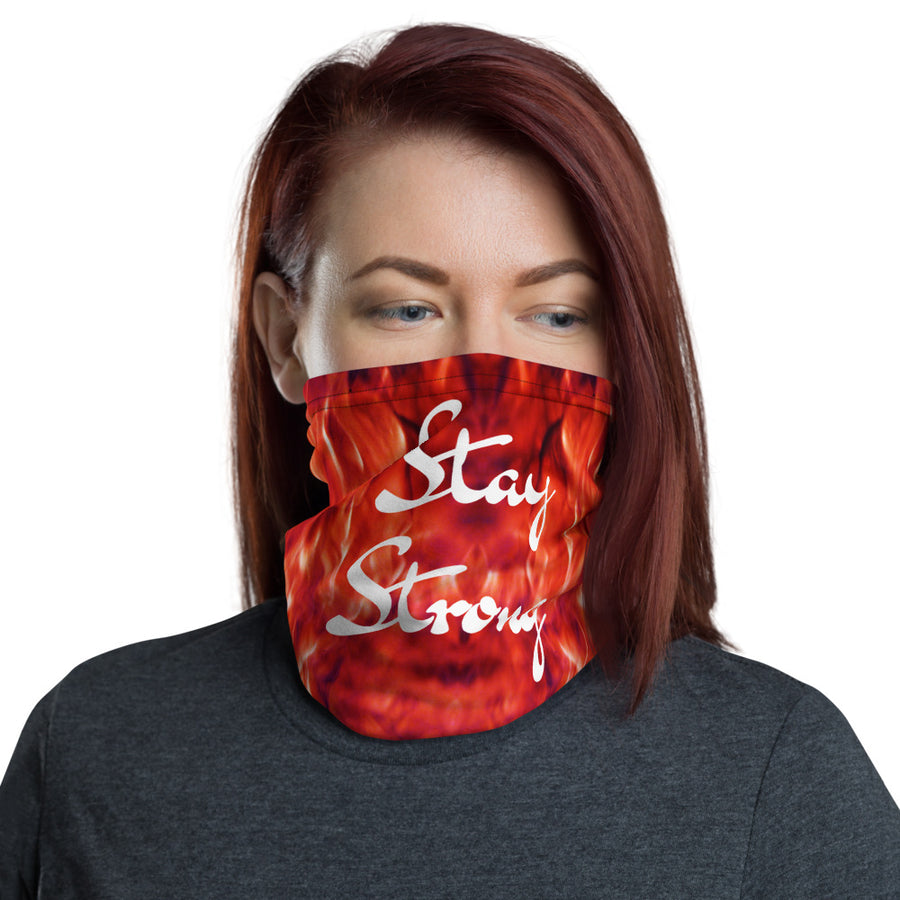STAY STRONG - cubre bocas/ mouth guard / covid91 Neck Gaiter