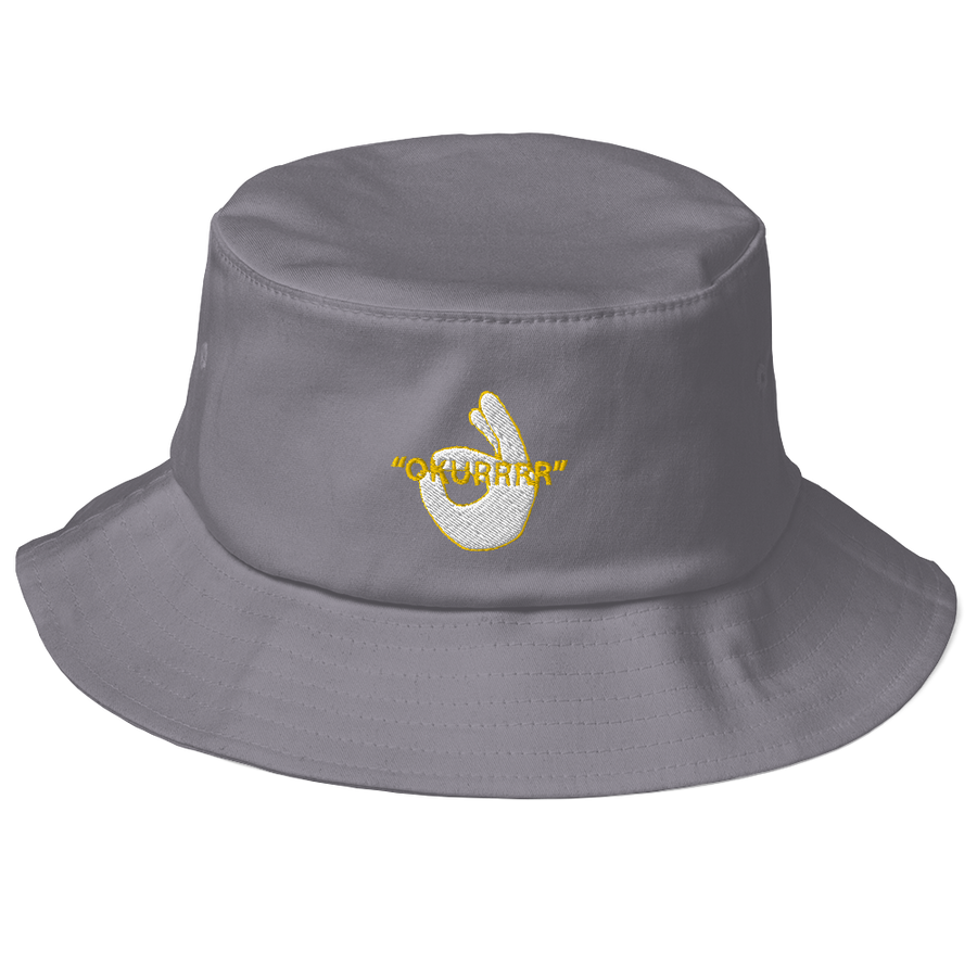 OKURRR- Old School Bucket Hat
