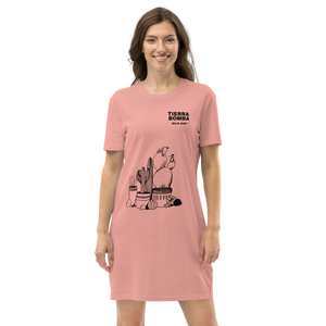 TIERRA BOMBA BAJA SUR 2021- Organic cotton t-shirt dress