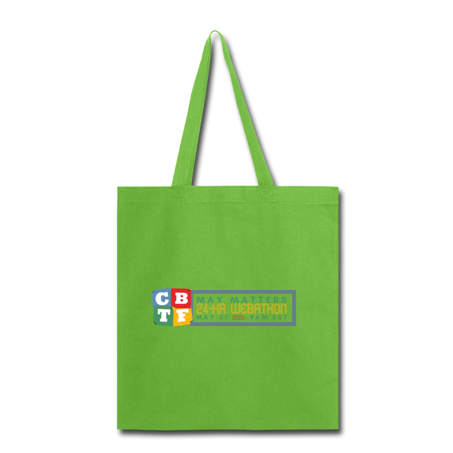 MAY MATTERS  - Tote Bag - lime green
