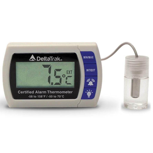 DeltaTrak 12215: Certified Alarm Thermometer - Anaum - Test and Measurement