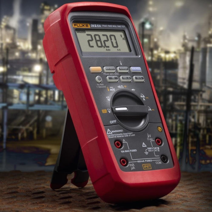 Fluke 28 II Ex : Intrinsically Safe True-rms Digital Multimeter