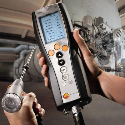 Testo 340 : Flue gas analyzer for use in industry