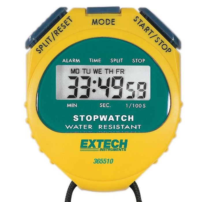 Extech 365510: Stopwatch/Clock - Anaum - Test and Measurement