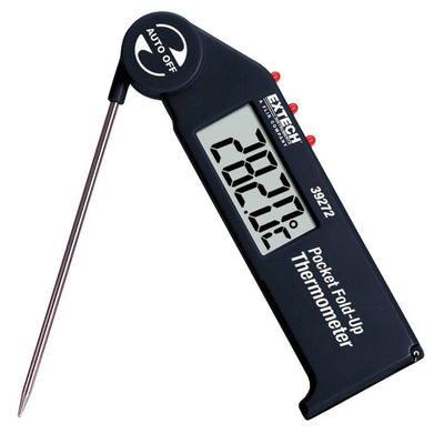 Extech 39272: Pocket Fold up Thermometer with Adjustable Probe - Anaum - Test and Measurement