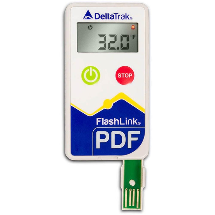 DeltaTrak 40203: FlashLink PDF Multi-Use Data Logger (°C ) - Anaum - Test and Measurement