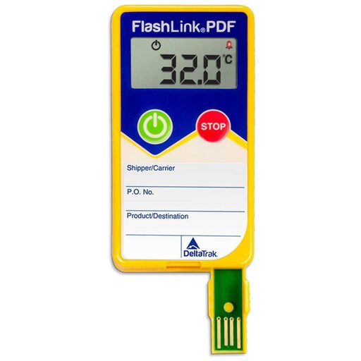 DeltaTrak 404X1: FlashLink PDF In-Transit Data Logger, °C - Anaum - Test and Measurement