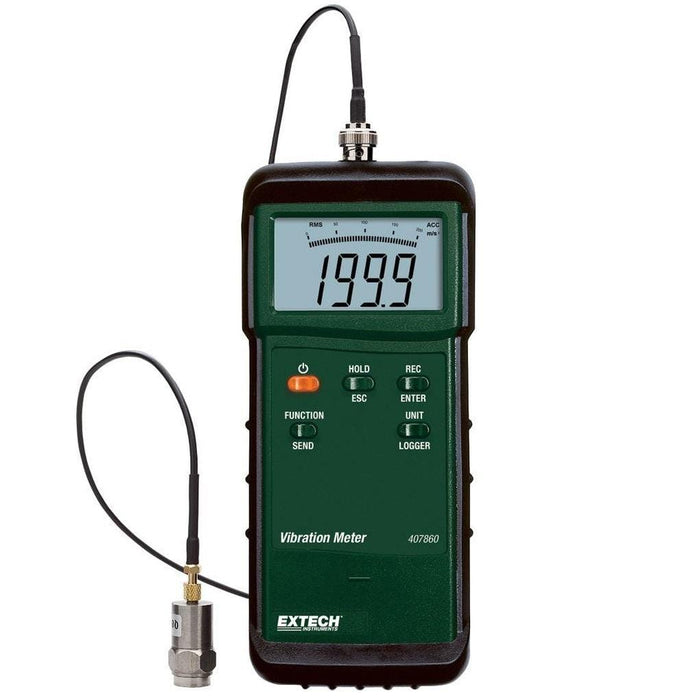 Extech 407860: Heavy Duty Vibration Meter - Anaum - Test and Measurement