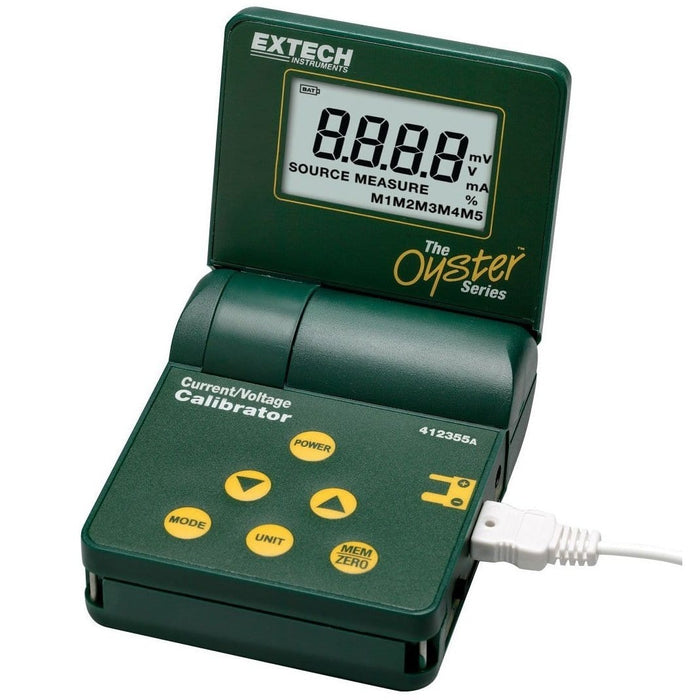 Extech 412355A: Current and Voltage Calibrator/Meter - Anaum - Test and Measurement