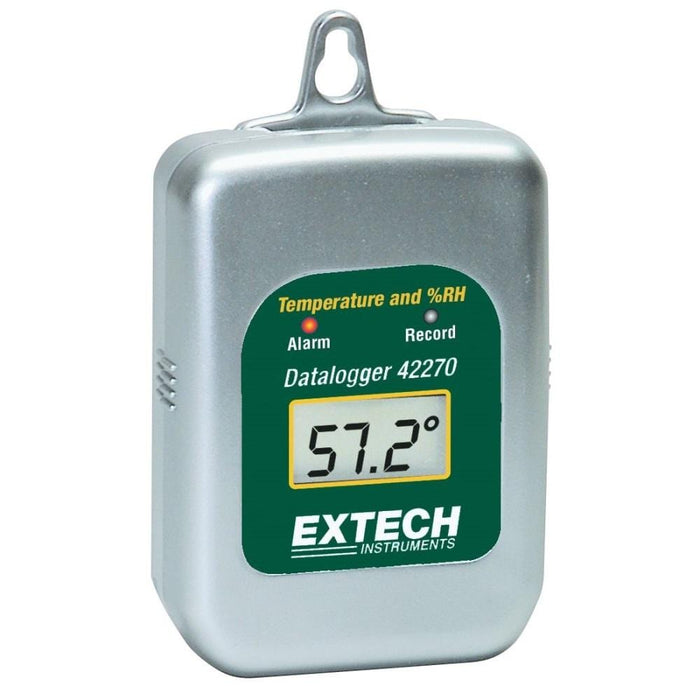 Extech 42270: Temperature/Humidity Datalogger - Anaum - Test and Measurement